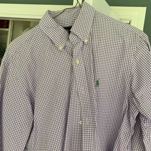 Purple Ralph Lauren Button Down